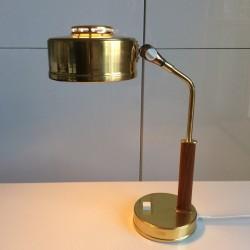 Lampa från 60-70 talet med patina 550 kr